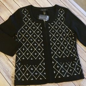 White House Black Market Cardigan Sweater SZ Small